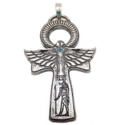 Antique Look Egyptian Ankh (Siver Plated) Pendant