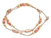 Glitz4Girlz Amber Bead Necklace