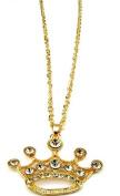 Blingalove Diamante Tiara Chain Necklace