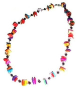 Tribe Jazzy Shell Chips Necklace