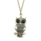 Divadoo Mythical Night Owl Necklace
