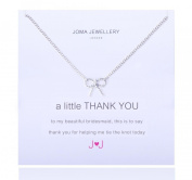 A Little Thank You (Bridesmaid) Necklace By Joma Jewellery