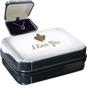 I Love You Hrt Necklace Box