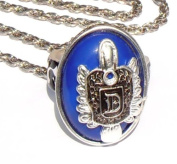 Vampire Diaries Damon D Salvatore Ring props on a Necklace