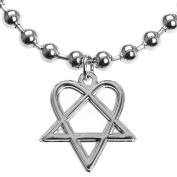 Old Glory H.I.M. - Heartagram Ball Chain Necklace Jewellery