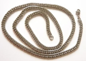 """24"""" 5mm Cuban Stainless Steel Chain"""