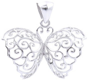 4.6g of Genuine 925 Sterling Silver Butterfly Pendant - FREE GIFT BOX