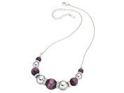Fiorelli Purple Cat's Eye Necklace