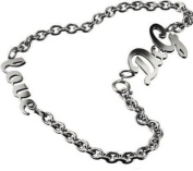 D & G DJ0391 Ladies Stainless Steel Love Necklace