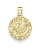 14ct US Navy Pendant - JewelryWeb