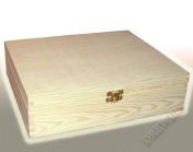 PLAIN WOOD - WOODEN TRINKET STORAGE BOX JEWELLERY - DECOUPAGE SMALL P18