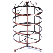 Jewellery Holder Jewellery Stand Metal Earring Necklace Bracelet Holder Coppery JDS012
