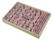 Stackers Jewellery Box Cream - Earring/Pendant 25 x 18 x 3.5 cm