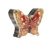 Treasured Trinket Box - Stunning Sparkling Butterfly