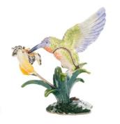 Treasured Trinket Box - Beautiful Sparkling Hummingbird
