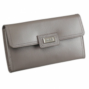 Dulwich Designs Pretty Mink Leather Ladies Jewellery Roll