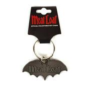 Meat Loaf - Keyring Schlüsselanhänger - Bat Logo