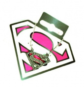 Supergirl Necklace - silver