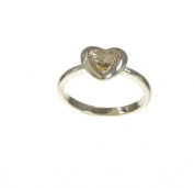 Hearts within Hearts Silver Ring
