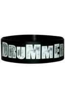 Drummer Rubber Wristband