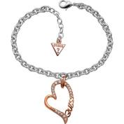 Ladies Guess Stainless Steel Bracelet UBB70202