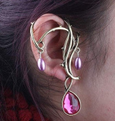 Gothic Passion water Drops Cuff Earring HOT! NEW!