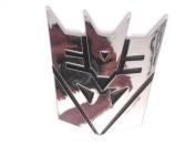 Transformers Decepticon Chrome Emblem 13 cm Tall - Prop Replica