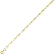 9Ct Gold Oval Belcher Chain 20 inch/2mm