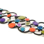 """Designer bracelet """"Arlequin""""multicolor."""