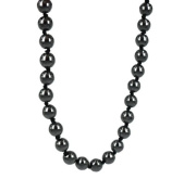 8 mm beads Hematite Necklace