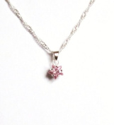 Midor925 sterling silver Crystal *Little Star* Pendant necklace MD00377NC