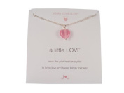 Joma Girls a little love necklace pink heart