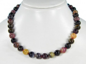 * Amazing Tourmaline * Gorgeous necklace * Very beautiful * Pure gemstone * Top * Lovely handcrafted lady´s chain from semiprecious stones * Charming *