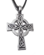 Traditional Celtic Cross Pendant / Necklace