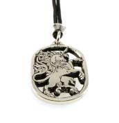 Handmade Mystical Magical Unicorn Equine Pewter Pendant