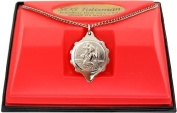 SOS Talisman medical ID Pendant Necklace St. Christopher