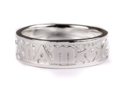 Celtic Irish Mo Anam Cara My Soul Mate Silver with Claddagh Design Gents ring