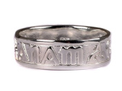 Celtic Irish Mo Anam Cara My Soul Mate Silver with Trinity Knot Design Ladies ring