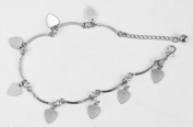 Ladies Anklets-Womens Barefoot Ankle Chain-Stunning Anklet Design-641910.