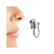 Sterling Silver Scorpion Nose Clip Non-Piercing
