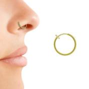 Non Piercing Nose Hoop Ring Gold Colour