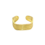Toe Ring 14K gold plated with adjustable design