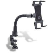 ARKON TAB086-12 30cm Heavy-Duty Desk Or Cart Tablet Mount with Adjustable C-Clamp Mounting Base
