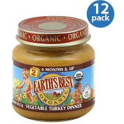 Earth's Best Organic Vegetable Turkey Dinner, 120ml