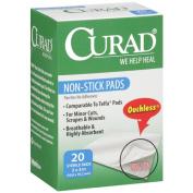 Curad Non-Stick Pads, 5.1cm x 7.6cm , 20 ea