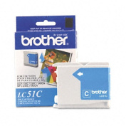for Brother LC51C Cyan Inkjet Cartridge For MFC-240C Multi-Function Printer