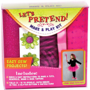 Fabric Editions Let's Pretend Tutu Kit, Pink