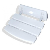 Steam Spa SS-C Steam Spa Wall Mounted Shower Seat; White