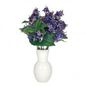 House of Silk Flowers Inc. Artificial Lilac in Ceramic Vase