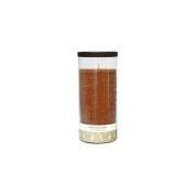 Northern Lights Candles 42601 7. 13cm Glass Pillar - Cinnamon Stick